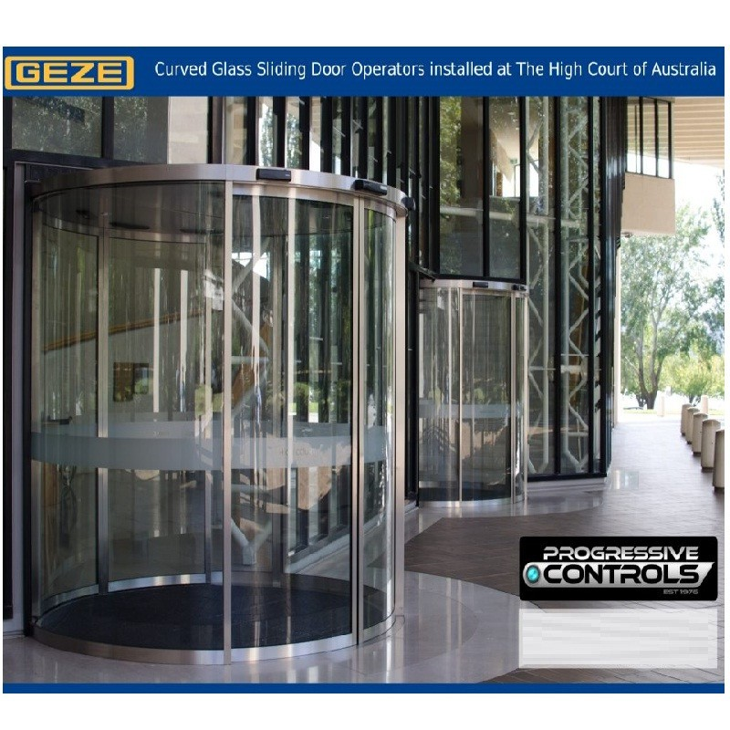 AUTOMATIC DOOR CURVED SC-SCR GEZE