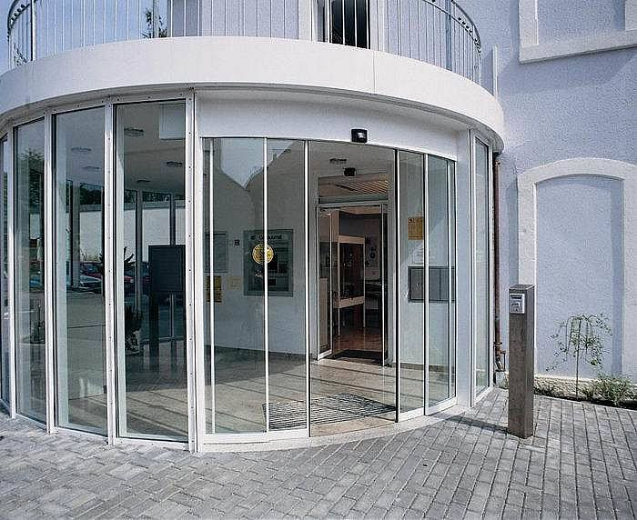 AUTOMATIC DOOR PAD2007 CURVED