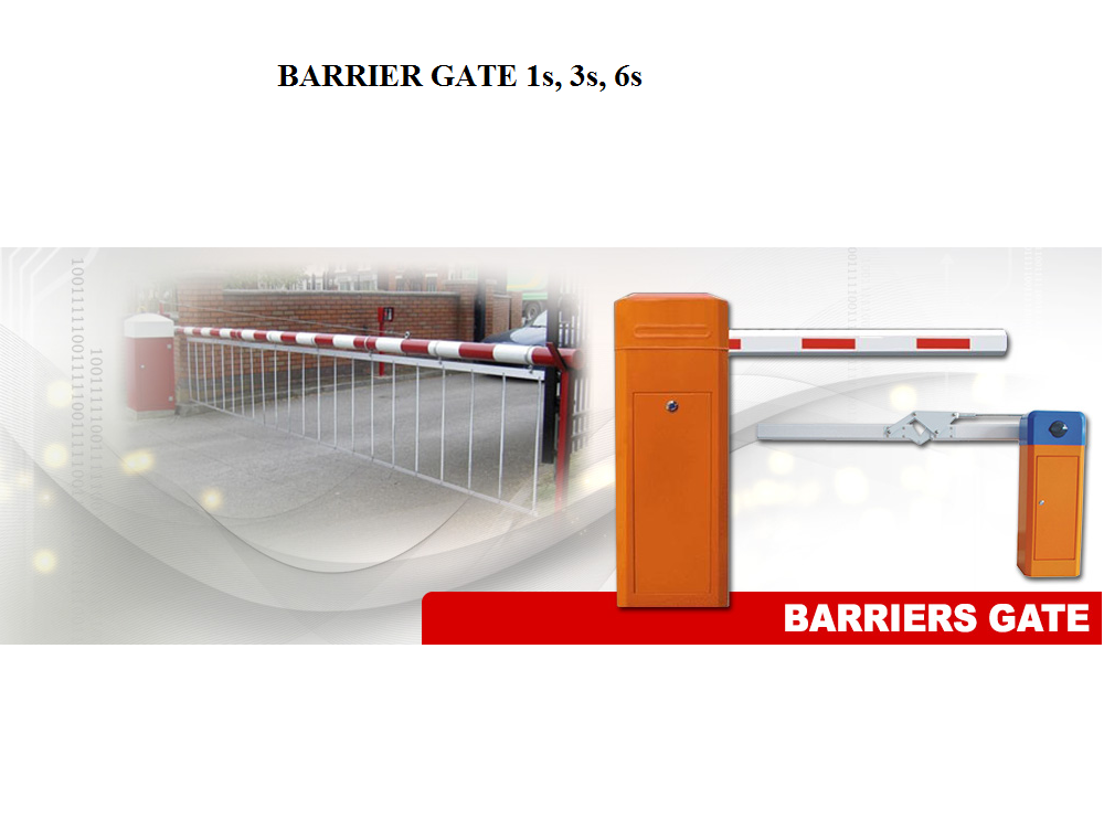 BARRIER GATE E-7000 6s