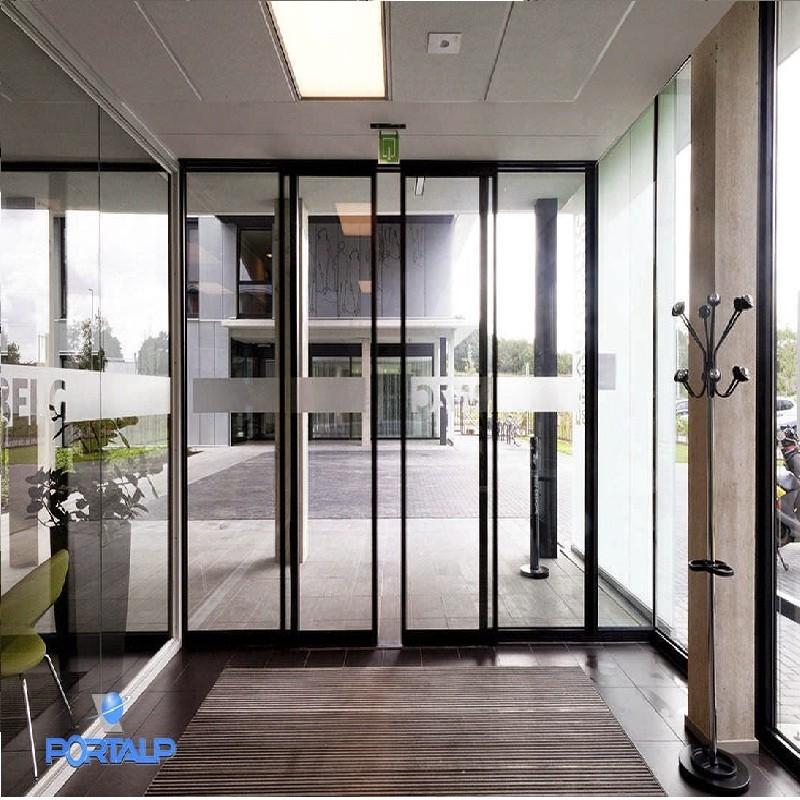 pintu kaca geser otomatis